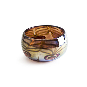 Peacock bowl Ltd Ed
