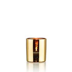 HURRICANE LAMP SMALL GOLD