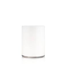 HURRICANE LAMP MEDIUM WHITE