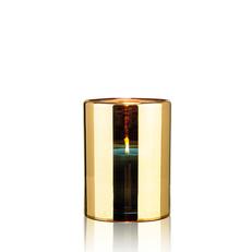 HURRICANE LAMP MEDIUM GOLD