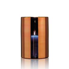 HURRICANE LAMP LARGE BRONZE