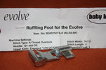 Babylock Evolve G Ruffling foot