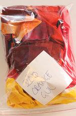 Pulvertrolls Spillpåsar röd,orange,gul