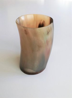 Horn Cup, Polished