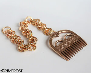 Viking Comb, Bronze