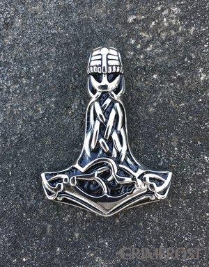 Helmet Thor's Hammer, Stainless Steel