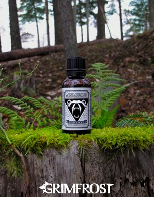 Grimfrost Beard Oil, Resin & Hops