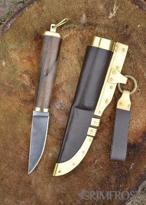 Couteau Viking, Décorations Cuivres