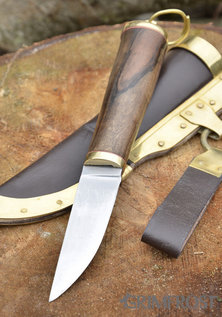 Viking Coltello, Decorazioni in Ottone