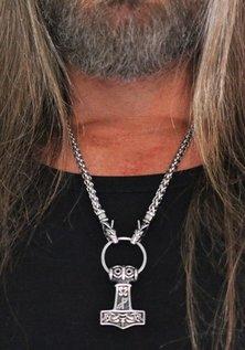 Wolf Chain Mjölnir, Stainless Steel