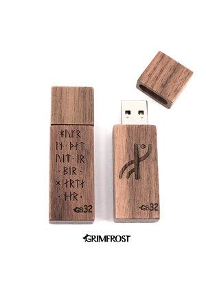 USB Flash Drive 32GB, Runes
