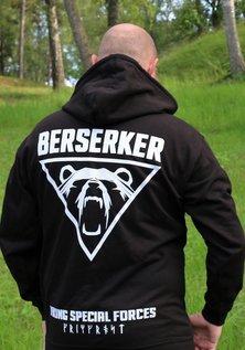 Zip Hoodie, Berserker, Black