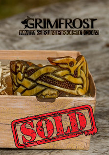 Premium Hoorn Armband, Linnormr