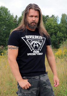 T-shirt, Berserker, Black