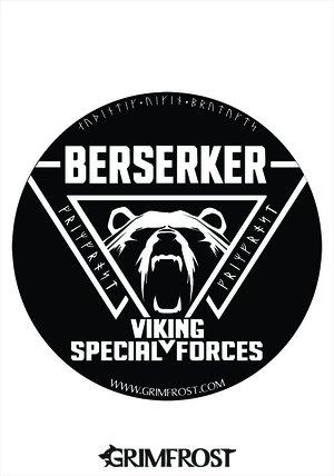 Bumper Sticker, Berserker