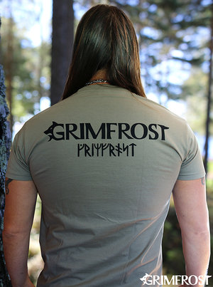 T-shirt, Grimfrost, Army Khaki