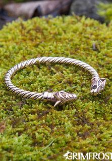 Freki & Geri Arm Ring, Bronze