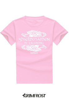 Kids T-shirt, Shieldmaiden, Pink