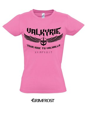 Girlie-Shirt, Valkyrie, Pink