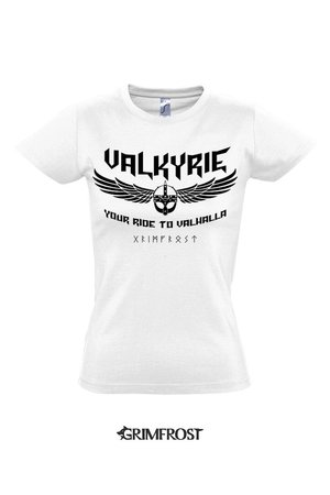 Girlie-Shirt, Valkyrie, White