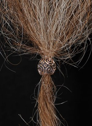 Beard/Hair Bead, Bronze