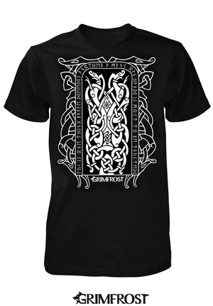 T-shirt, Runestone, Black