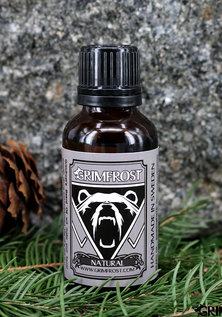 Grimfrost Beard Oil, Natural
