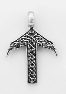 Tyr Pendant, Stainless Steel