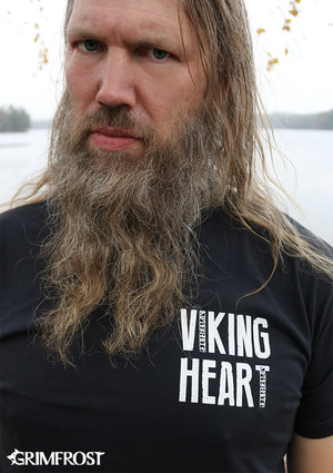 T-shirt, Viking Heart, Navy Blue