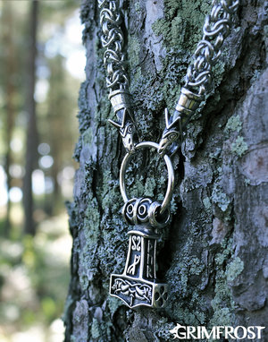 Wolf King Chain Mjölnir, Stainless Steel