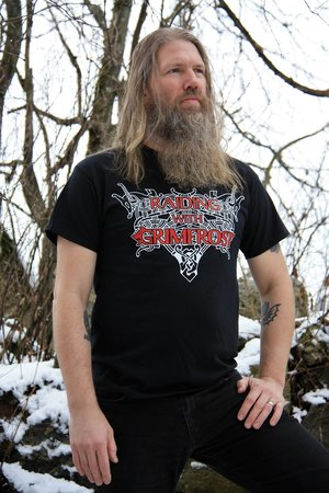 T-shirt, Raiding Grimfrost, Black