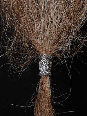 Beard Bead, Silver