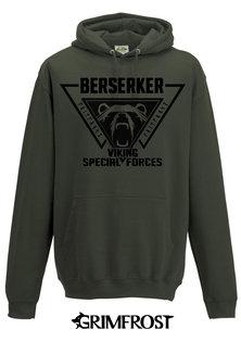 Hoodie, Berserker, Army Green