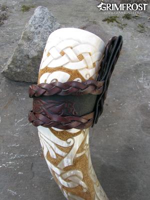 Premium Drinking Horn, Sigurd & Dragon