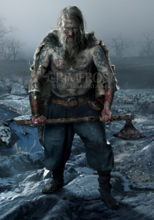 Poster Art: Viking Berserker