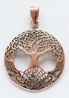Yggdrasil Amuleto, Bronce