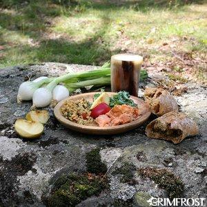 Viking Platte, Holz