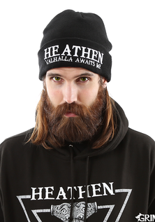 Heathen Watch Hat, Black