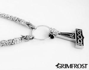 Cadena Rey de Lobo Mjölnir, Acero Inoxidable