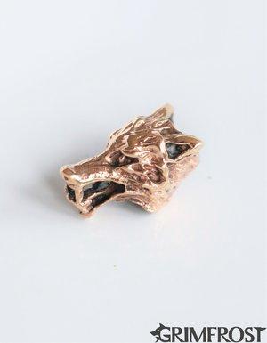 Beard Bead, Bronze Wolf