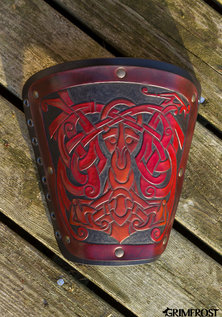 Premium Warrior Bracer, Thor and the Dragon