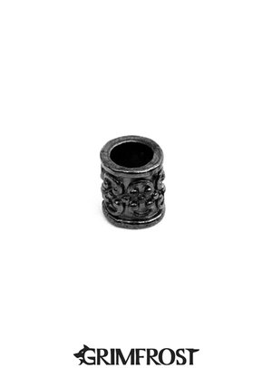 Beard Bead, Antique Black