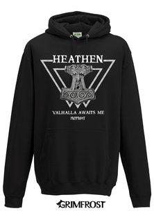 Hoodie, Heathen, Black
