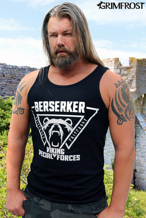 Tank Top, Berserker, Black