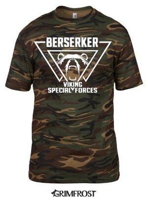 T-shirt, Berserker, Camo