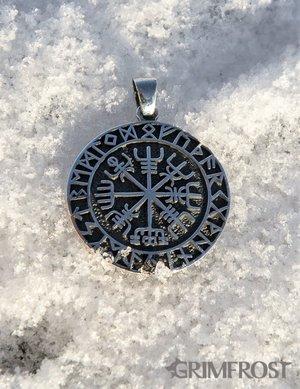 Vegvisir Amulet, Zilver
