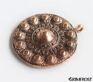 Escudo de Valhalla Amuleto, Bronce