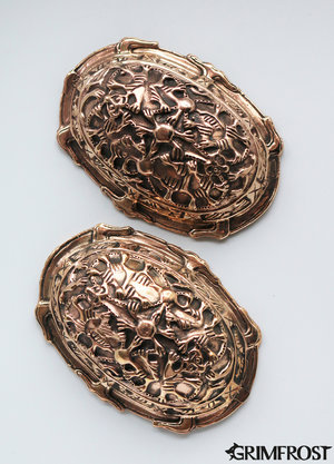 Tortoise Broches, Birka