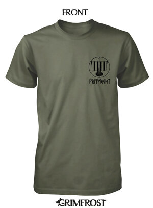 T-shirt, Warcry, Army Khaki
