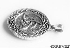 Triquetra Smycke, Silver